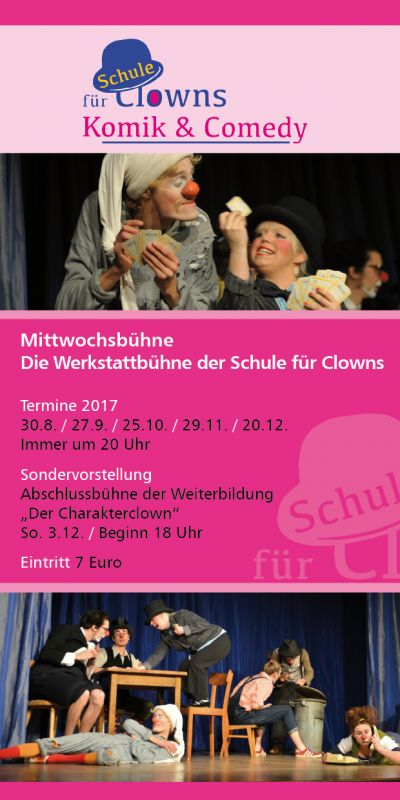 Flyer Clownschule